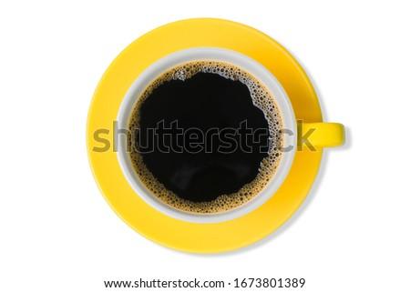 желтый Кубок изолированный таблице пить жизни Сток-фото © ozaiachin