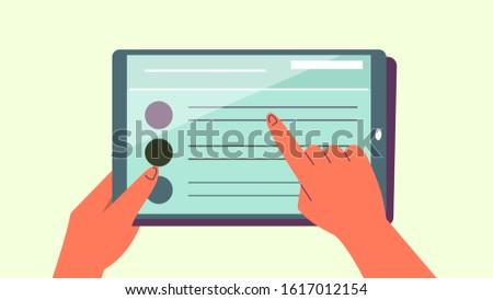 computer · tonen · business · iconen - stockfoto © bluebay