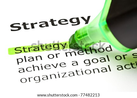management highlighted in green stock photo © ivelin