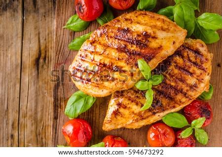 Borst salade vers saus voedsel Stockfoto © tycoon