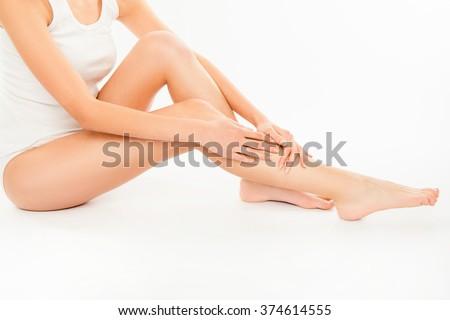 fotoğraf · güzel · ince · vücut · biçim · temizlemek - stok fotoğraf © serdechny