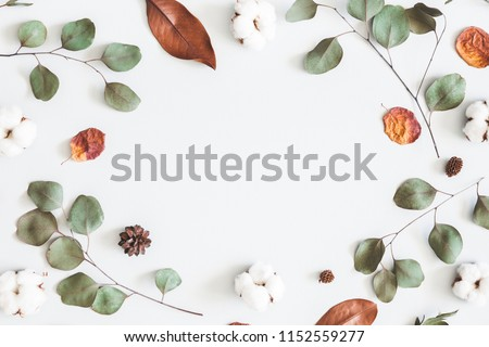Autumn Background Composition with Leaves Stock photo © solarseven