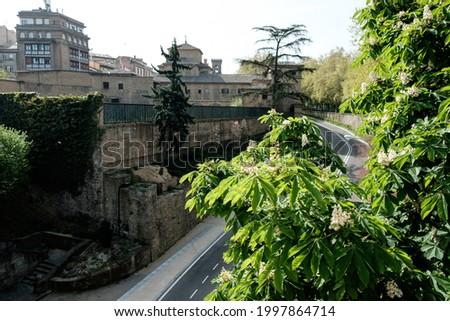 Basiliek Spanje gebouw stad reizen architectuur Stockfoto © borisb17