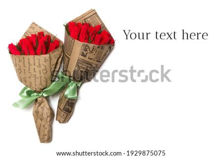 bunch of red wineorigami handmade stock photo © djemphoto