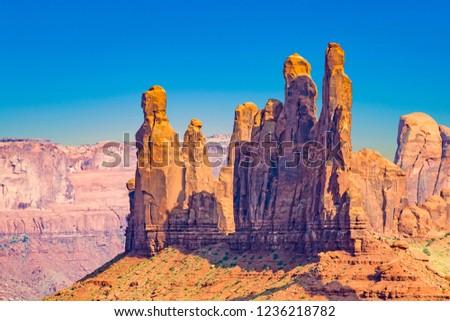 полюс · гигант · песчаник · образование · долины · пустыне - Сток-фото © meinzahn