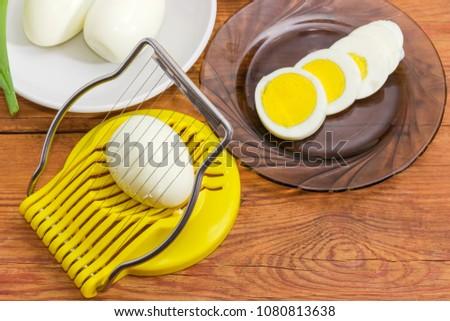 Egg Slicer Stock photo © kitch