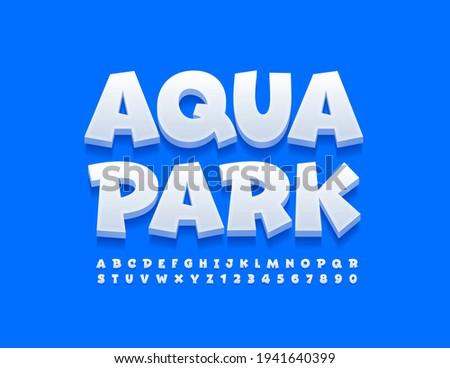 Aqua park illustration  Stock photo © m_pavlov