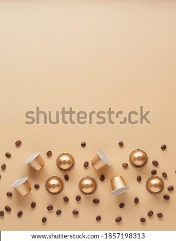 シード · コーヒー · カプセル · 白 · 食品 · ドリンク - ストックフォト © Studio_3321
