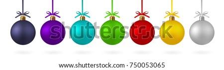 Silber Weihnachten Spielerei Bogen schwarz Feier Stock foto © filipw