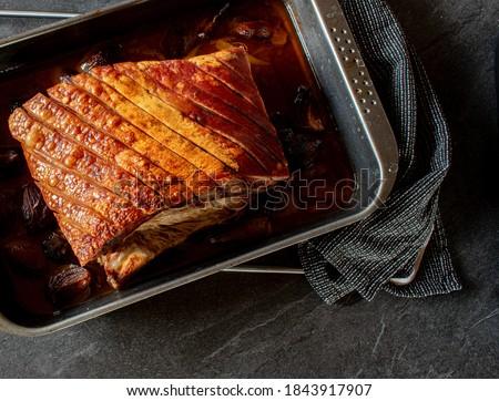 Roast pork belly  Stock photo © Digifoodstock