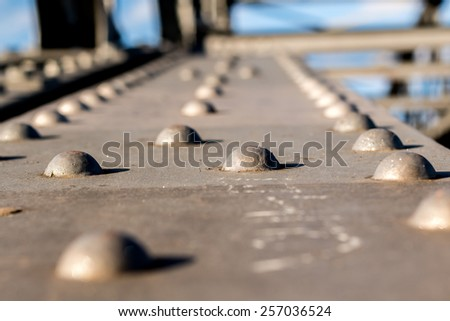 Old rusty weathered metal close up. Stock photo © latent