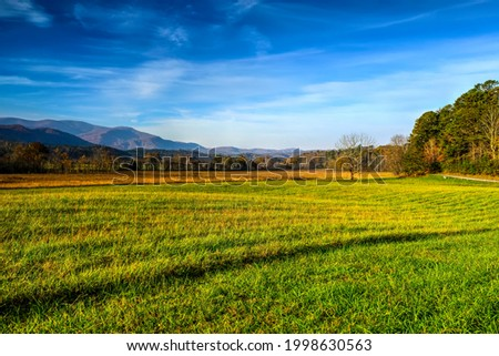 Cades Cove in Late October Stock photo © GreenStock