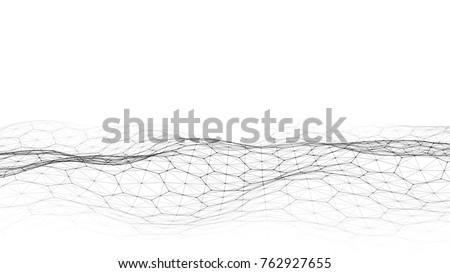 Negro Internet conexión molecular resumen sentido Foto stock © kyryloff