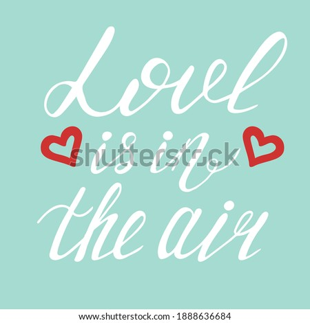 Liefde lucht grunge poster Stockfoto © masay256