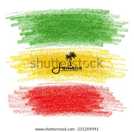 Kézzel rajzolt szín rajz szakáll napszemüveg poszter Stock fotó © netkov1