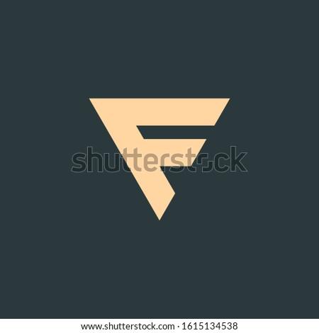 Design Concept of Letter F, Vbusiness identity concept. Creative corporate template. Stock Vector il Stock photo © kyryloff