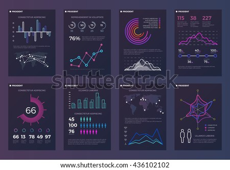 Infographic template for statistic data visualization. Stock photo © DavidArts