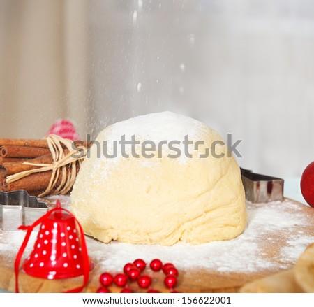 preparazione · dolce · biscotti · ancora · vita · rustico · stile - foto d'archivio © dashapetrenko