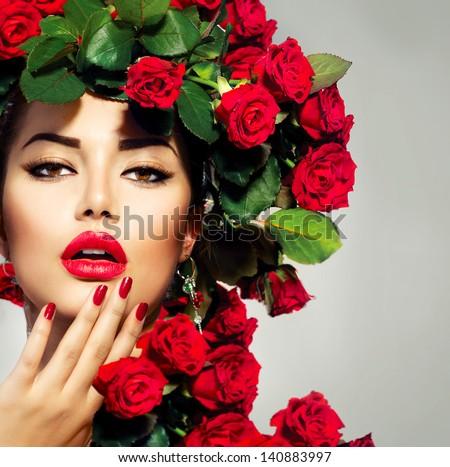 портрет · красивой · ярко · многоцветный · маске - Сток-фото © victoria_andreas