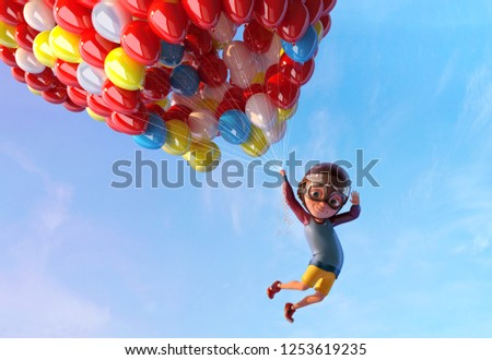 Balloons Up Stock photo © rghenry
