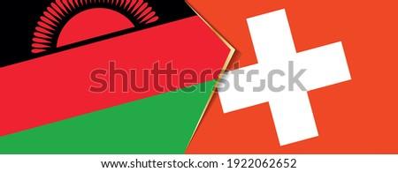 Switzerland and Malawi Flags Stock photo © Istanbul2009