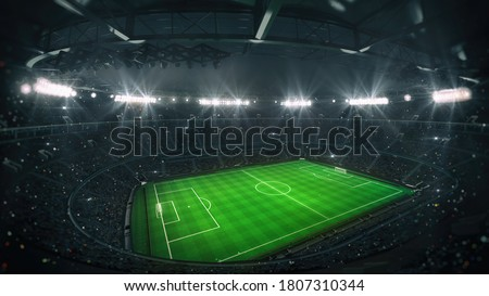 Soccer Stadium Roof Stock photo © fouroaks