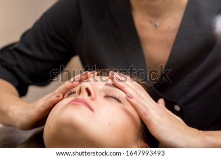 facial reflexology Stock photo © adrenalina