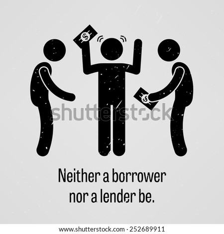Money Goods Relationship, Man Giving Money To Man With A Product Vector. Isolated Illustration Stock photo © pikepicture