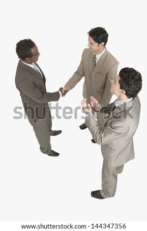 Widoku różnorodny ludzi biznesu działalności Zdjęcia stock © wavebreak_media