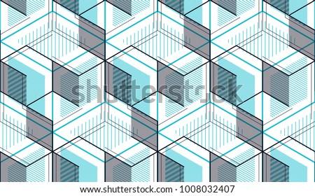 Isometrica grafica pattern abstract senza soluzione di continuità ripetibile Foto d'archivio © ukasz_hampel