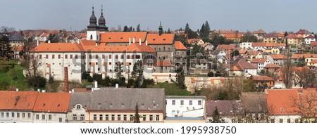 Gothic and renaissance Basilica Saint Procopius in Trebic monastery, Czech Republic Stock photo © Zhukow