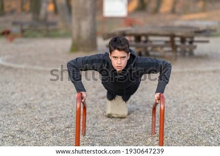 Foto sportlich Sportler Ausübung Kopfhörer Stock foto © deandrobot