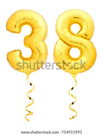 Aantal acht omhoog kleurrijk ballonnen witte Stockfoto © evgeny89