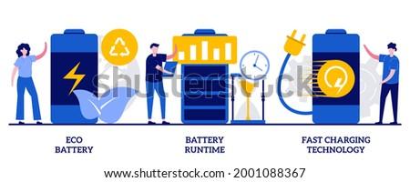 Novo bateria vida engenharia vetor metáforas Foto stock © RAStudio