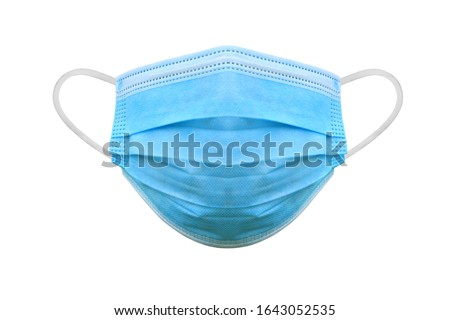 Médico máscara branco coronavírus proteção fator Foto stock © Natalia_1947