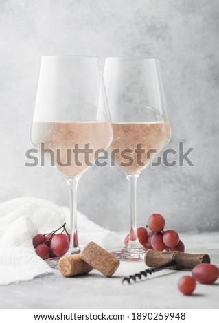 Bril eigengemaakt zomer wijn Stockfoto © DenisMArt