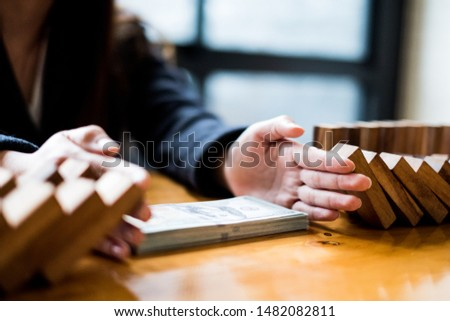 Alternative risk plan and strategy to growth profit in business, Stock photo © Freedomz