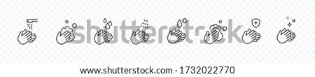 gotas · establecer · signos · blanco · agua · naturaleza - foto stock © Ecelop