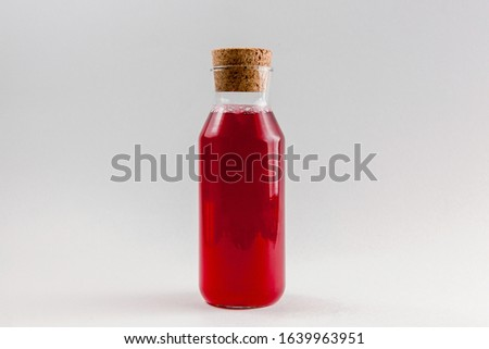 glass of red juice Stock photo © adam121