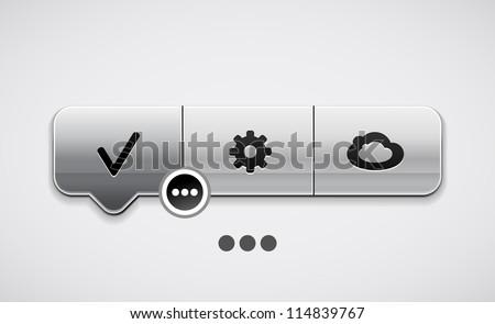 抽象的な ボタン 光 ウェブ マシン ストックフォト © rioillustrator