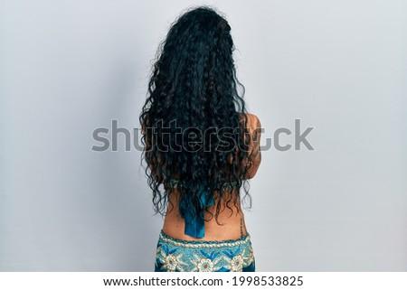 Backside of the belly dancer Stock photo © Novic