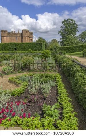 The restored Elizabethan Garden at Kenilworth Castle, Kenilworth Stock photo © siavramova