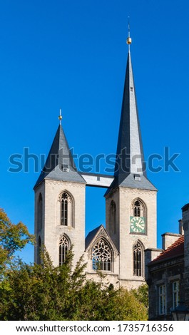 Halberstadt Martinichurch  Stock photo © LianeM