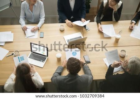 Resultados mesa de madeira palavra escritório vidro educação Foto stock © fuzzbones0
