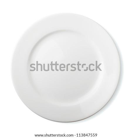 modern white dinner plate stock photo © digifoodstock