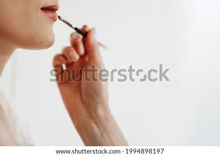 Mão gloss noiva mulher feliz Foto stock © wavebreak_media