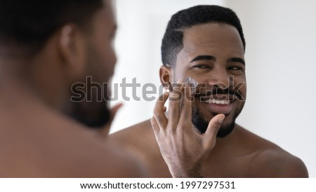 good looking man under man shower Stock photo © dotshock