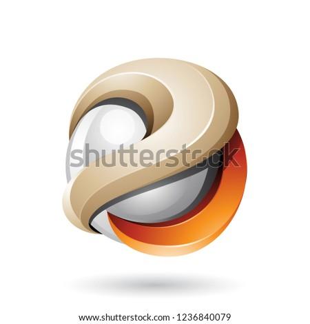 grijs · 3D · bol · computer · papier · bouw - stockfoto © cidepix