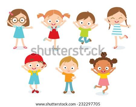 Chłopca przedszkole dziecko zestaw wektora mały Zdjęcia stock © pikepicture
