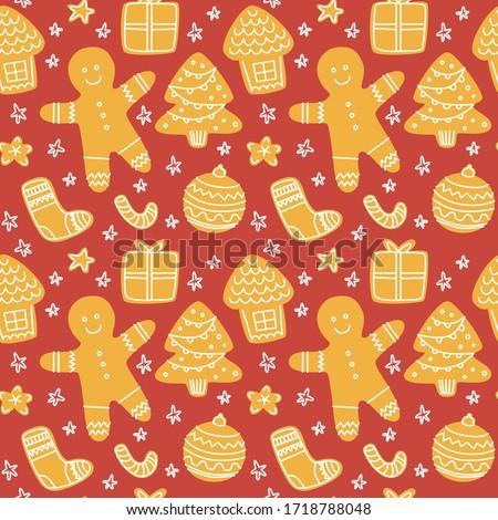 自家製 · クリスマス · クッキー · ヴィンテージ · スタイル · 時間 - ストックフォト © Peteer